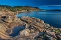 Картинка лес, озеро, США, Maine, Acadia National Park