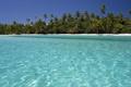 Картинка море, лето, вода, пальмы, остров, красивые обои