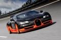 Картинка трасса, вейрон, 16.4, Bugatti Veyron, скорость, Super Sport