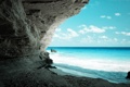 Картинка water, stones, blue, Ocean, Cave