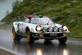 Картинка дождь, Lancia, дорога, Rally, Stratos, легенда автоспорта, Car