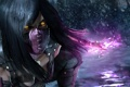 Картинка лес зима снег девушка, Mortal Kombat X, sai, Mileena