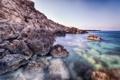 Картинка море, лето, природа, камни, скалы