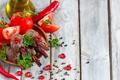 Картинка pepper, butter, herbs, корица, Barbecue, зелень, tomatoes