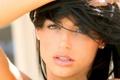 Картинка Louise Glover, женщина, лицо, брюнетка