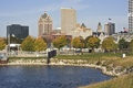 Картинка city, город, USA, Wisconsin, Milwaukee