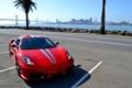 Картинка F430, Ferrari, red, sexy, skyline, sky, Scuderia