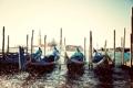 Картинка море, вода, брызги, остров, пристань, Италия, Венеция