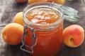 Картинка фрукты, абрикосы, абрикосовый джем