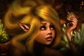 Картинка глаза, уши, ящерица, девушка, lilok-lilok, волосы, эльф
