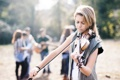 Картинка девушка, люди, скрипка