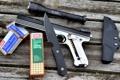 Картинка gun, Handgun, 22 LR, knife