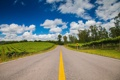 Картинка пейзаж, дорога, лето