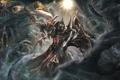 Картинка crusader, Diablo 3, armor, тьма