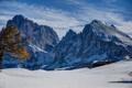Картинка снег, горы, природа, вершины