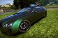 Картинка машина, Bentley Continental GT, трек, need for speed shift 2, газон