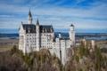 Картинка замок, Neuschwanstein, Бавария, Германия, castle, Нойшванштайн