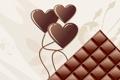 Картинка арт, шоколад, сердечки
