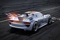 Картинка машина, авто, спорт, Porsche, на старте, 918 RSR