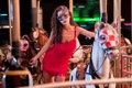 Картинка девушка, маска, Carousel