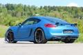 Картинка авто, тюнинг, Porsche, Cayman, задок, SpeedART, SP81-CR
