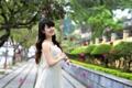 Картинка азиатка, девушка, улица