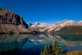 Картинка пейзаж, горы, природа, озеро, Канада, национальный парк