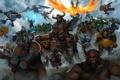 Картинка Dota 2, Phoenix, sven, Centaur Warrunner, Elder Titan, Legion Commander, Huskar