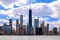 Картинка облака, здания, дома, небоскребы, Чикаго, USA, Chicago