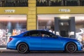 Картинка blue, tuning, amg, c63, matte, Mercedec