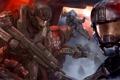 Картинка Halo reach, бойцы, игра, оружие