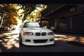 Картинка белый, бмв, BMW, перед, white, E46