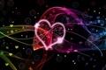 Картинка бабочки, сердце, День Св.Валентина