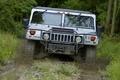 Картинка машина, лес, грязь, бездорожье, автомобиль, Hummer