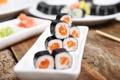 Картинка рыба, блюдо, роллы, начинка, японская кухня