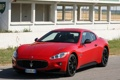 Картинка car, Maserati, red, sportcar, GranTurismo S, MC Sport Line