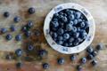Картинка тарелка, стол, Julia Khusainova, черника, ягоды