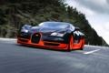 Картинка скорость, Bugatti, Veyron, суперкар, бугатти, передок, Super Sport