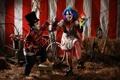 Картинка clown, circus, Roe City Rollers