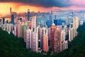 Картинка город, China, Гонконг, Китай, Азия, Hong Kong, КНР