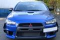 Картинка Mitsubishi, Car, Evolution, Blue, Evo