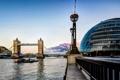 Картинка мост, река, Лондон
