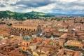 Картинка здания, Италия, панорама, Italy, Bologna, Болонья, Базилика Сан-Петронио