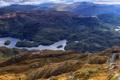 Картинка лес, горы, озеро, Шотландия, панорама, Loch Drunkie
