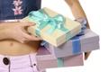 Картинка настроение, животик, внимание, ленточки, Подарки