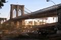 Картинка мост, нью-йорк, постапокалипсис, карантин