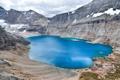 Картинка вода, горы, озеро, цвет, кратер, Lake McArthur