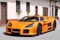 Картинка Машина, Оранжевый, Машины, Orange, Gumpert, Car, Автомобиль