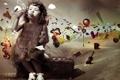 Картинка мыльные пузыри, девочка, необычные