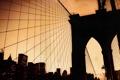 Картинка Мост, Город, Нью Йорк